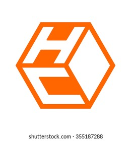 c and h logo vector.