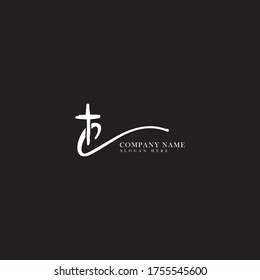 C letter Christian or church logo design. Black and white handwriting c letter awesome logo design template