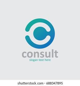 C Letter logo.