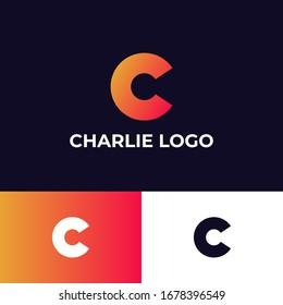 C Letter Logo. C Letter Design Vector for logo, symbol and icon
