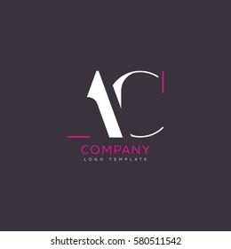 A C logo design
