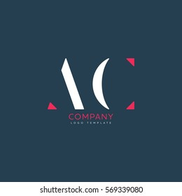 A C logo design for Corporate