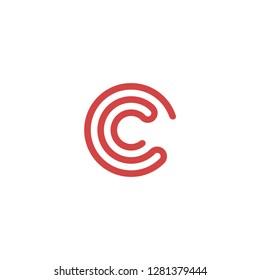 C logo letter C symbol C combination C