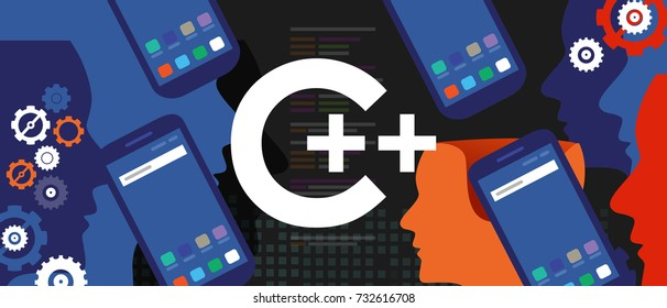 C++ mobile application programming language coding software technology