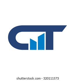 c and t logo