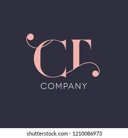 C T vintage logo design