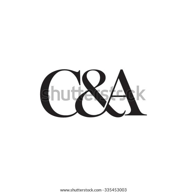 Vector De Stock Libre De Regalias Sobre Ca Initial Logo Ampersand Monogram Logo335453003