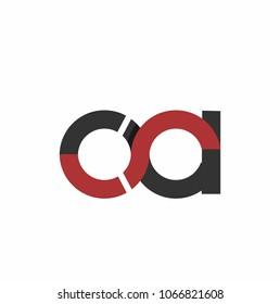 ca, oa initials company logo