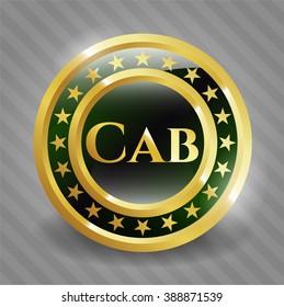 Cab gold badge
