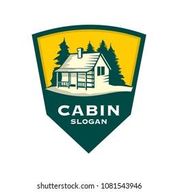 Cabin Logo template