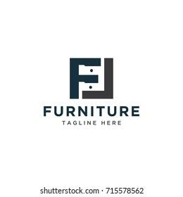 cabinet logo icon design template
