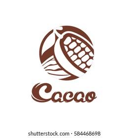 Cacao logo design.