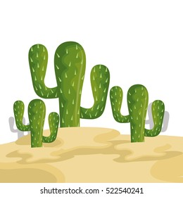 cactus mexican plant icon