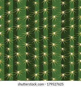 cactus pattern texture mexican saguaro sharp tile travel vector plant seamless background prickly pear close up