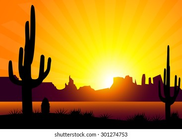 Cactus & Sunset Valley
