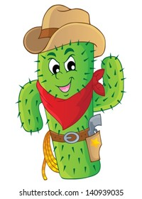 Cactus theme image 3 - eps10 vector illustration.