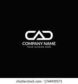 CAD Letter Logo Design-CAD Letter Logo