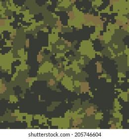 CADPAT seamless camo texture vector