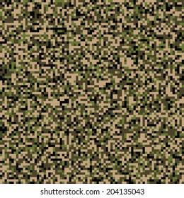 CADPAT seamless digital camo texture vector