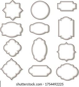 Cadre clip art graphics & vector arts