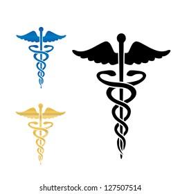 medical symbol images stock photos vectors shutterstock rh shutterstock com Vector Caduceus Laser Cadeuces Vector