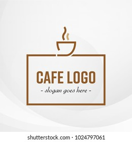 Cafe Logo Template