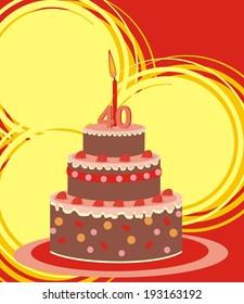 cake - 40 year