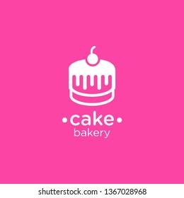 Cake bakery logo, design inspiration vector template for bakery logo