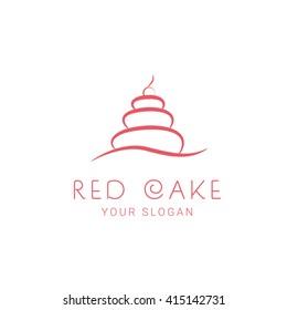 Cake Bakery Logo template