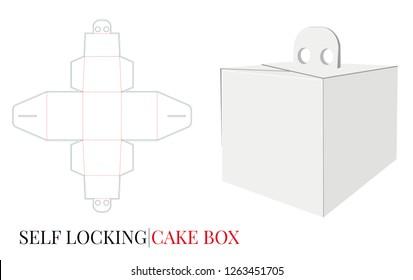 Imágenes Fotos De Stock Y Vectores Sobre Cake Box With