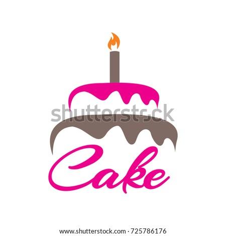 Cake Logo Stock Vector Royalty Free 725786176 Shutterstock