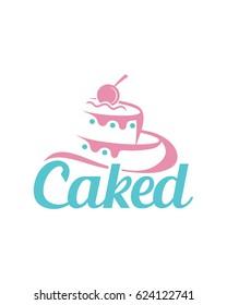 Logo Design Cake