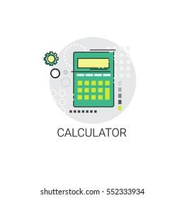 Calculator Accountant Finance Analysis Icon Vector Illustration