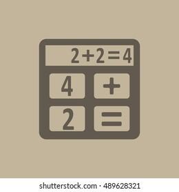 Calculator Flat design