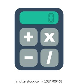 calculator flat icon.You can be used calculator icon for several purposes like: websites, UI, UX, print templates, presentation templates, promotional materials, web and mobile phone apps