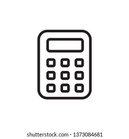 calculator icon design template