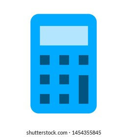 calculator icon. flat illustration of calculator. vector icon. calculator sign symbol