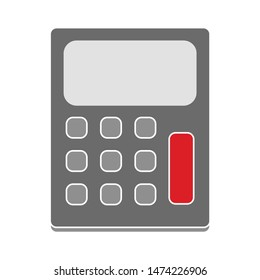 calculator icon. flat illustration of calculator vector icon. calculator sign symbol