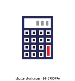 calculator icon. Logo element illustration. calculator design. colored collection. calculator concept. Can be used in web and mobile