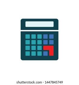calculator icon. Logo element illustration. calculator design. calculator concept. Can be used in web and mobile
