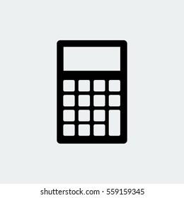 calculator icon  vector best flat icon  EPS