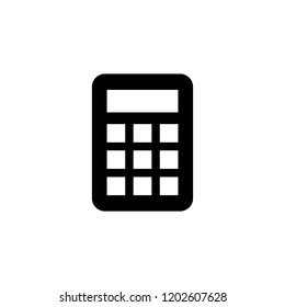 Calculator icon. Calculator vector icon. Savings. Finances sign. Economy concept.