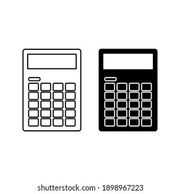 Financial Calculator Icon High Res Stock Images Shutterstock