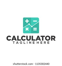 calculator vector logo image icon