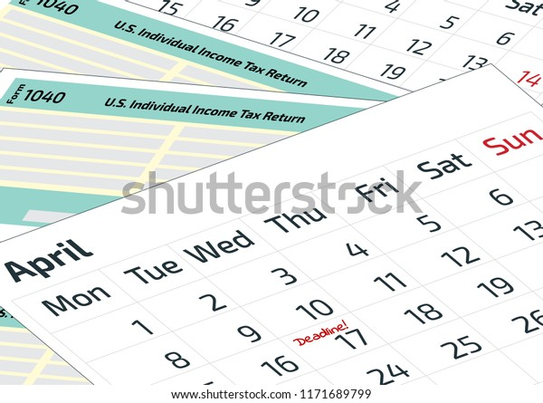 2020 Form 1040 Schedule 1.Calendar 1040 Income Tax Form 2019 Stock Vector Royalty