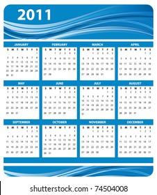 calendar 2011 design