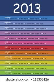 calendar 2013 spectrum 1