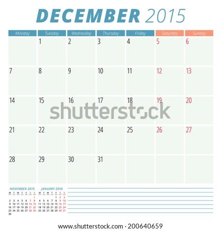 Calendar Template 2015 December Rehauhauteboxx