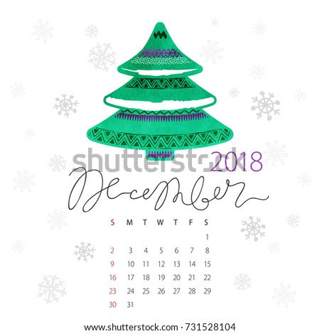 first day of the week is sunday abstract vector watercolor green new - What Day Of The Week Is Christmas On