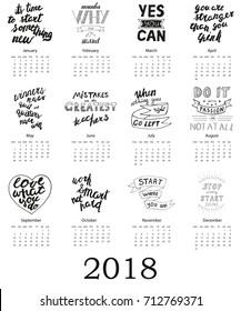 Motivational Calendar Images Stock Photos Vectors Shutterstock